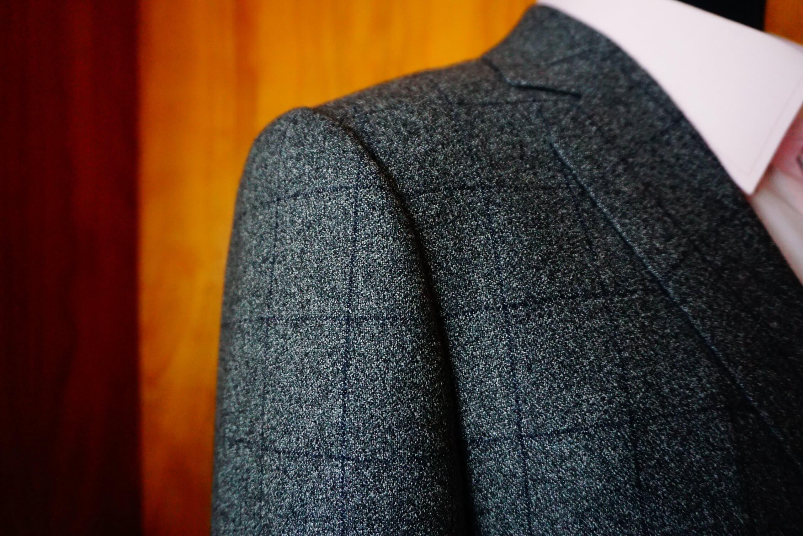 線對線縫合格紋